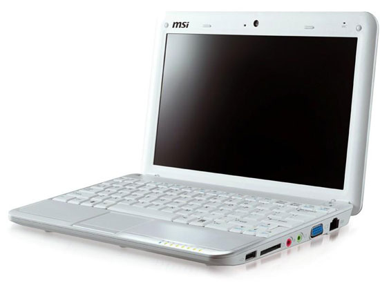 Msi wind u100 netbook pc computer review youtube.