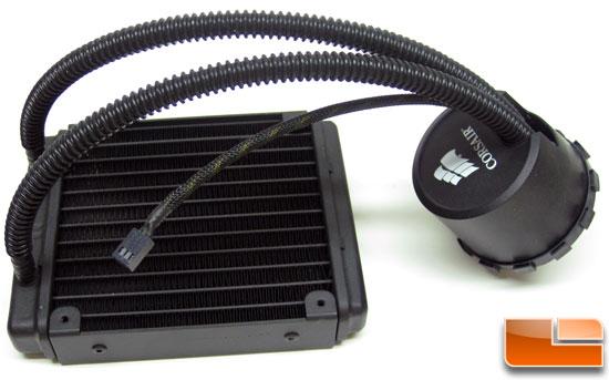 Corsair Hydro Series H50 Cpu Water Cooling Kit Review