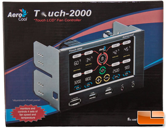 Aerocool Touch 2000 Lcd Fan Controller Review Page 3 Of