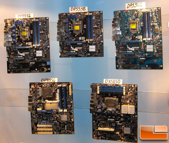 Intel Extreme Series P55 Motherboards