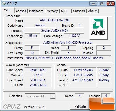 Amd Athlon Ii X4 620 And Athlon Ii X4 630 Processor Review Legit Reviewsamd Launches Propus For Under 100