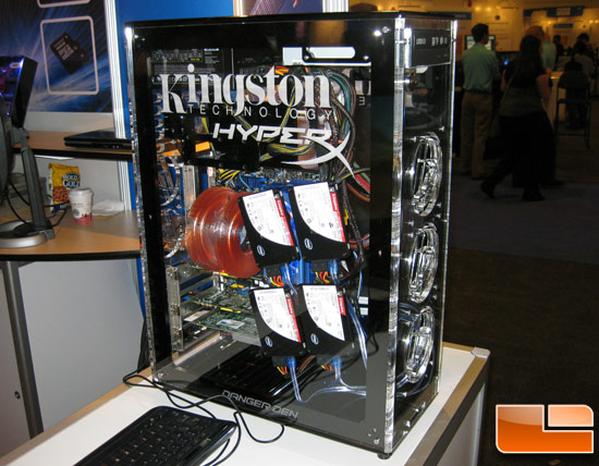 IDF 2009: Kingston Shows Off 12 'chained' SSDNow Series Drives