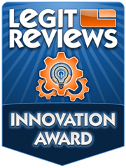 Legit Reviews Innovation Award