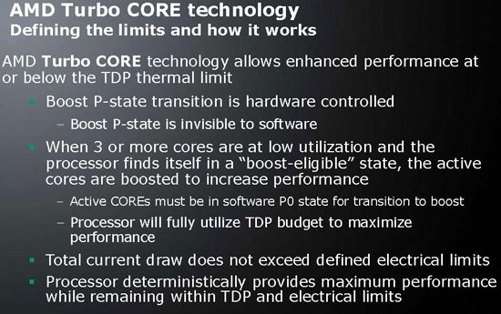 AMD Turbo CORE Technology