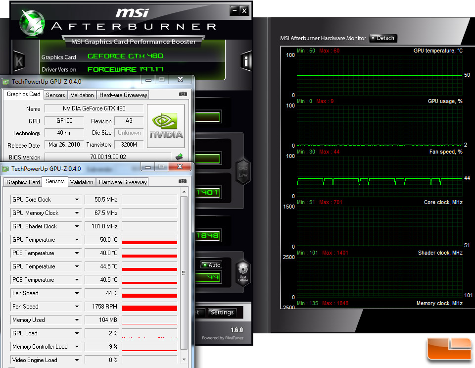 NVIDIA Solves Multi-Monitor Temp Issue on GeForce GTX 480