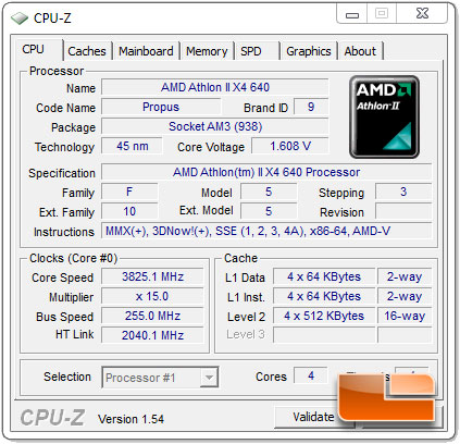 Amd Athlon Ii X4 640 3 0ghz Quad Core Processor Review Page 13 Of 14 Legit Reviewsoverclocking The Amd Athlon Ii X4 640