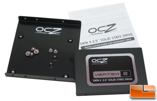 OCZ Vertex 2 100GB SSD Retail Bundle