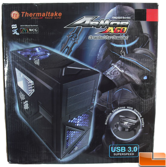 Thermaltake Armor A60 Mid Tower Case Box Front