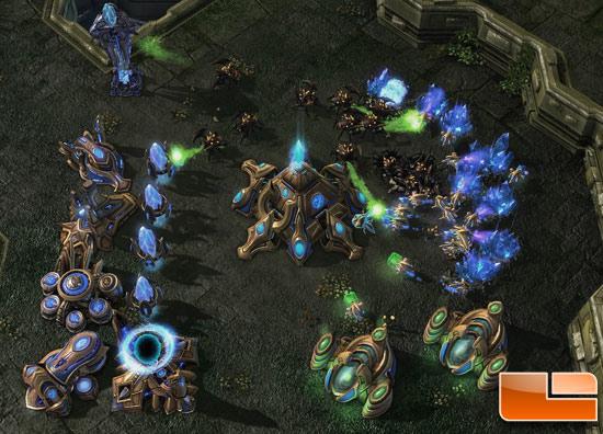 StarCraft II: Wings of Liberty Performance Benchmark