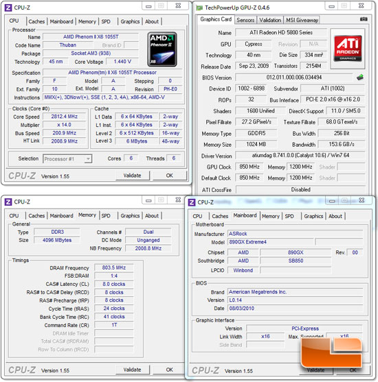 ASRock 890GX Extreme4 System Settings