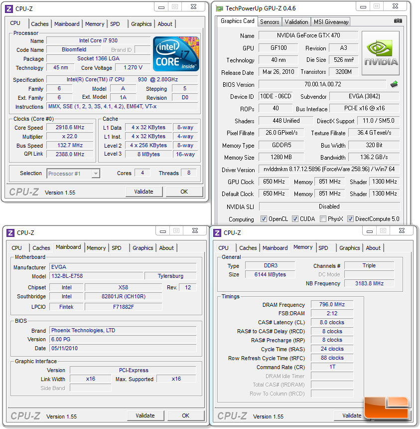 EVGA GeForce GTX 470 Hydro Copper FTW Video Card Review - Page 4 of