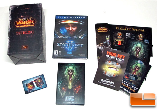 BlizzCon Goodie Bag