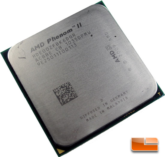 Amd Phenom Ii X6 1100t Black Edition 3 3ghz Cpu Review Legit Reviewsamd Phenom Ii X6 1100t Black Edition Processor