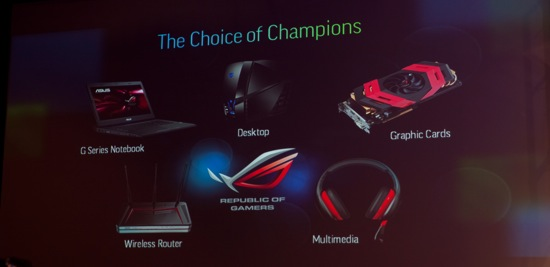 ASUS CES PRODUCTS