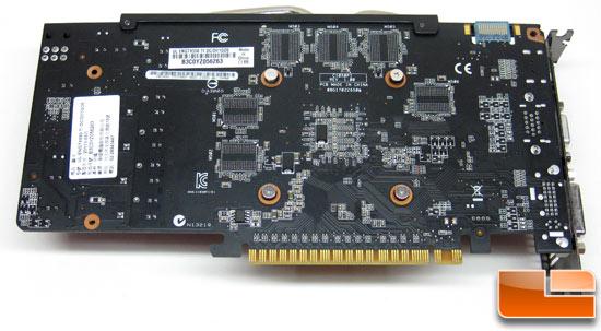 ASUS Ultimate GeForce ENGTX550 Ti Video Card Back