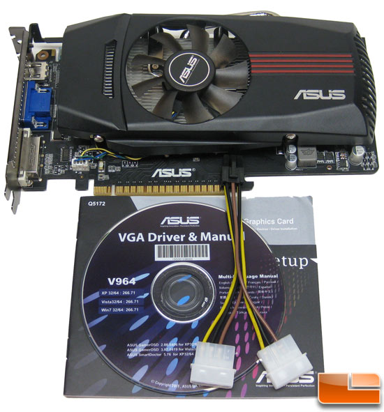 ASUS Ultimate GTX550 Ti DirectCU Video Card Retail Bundle