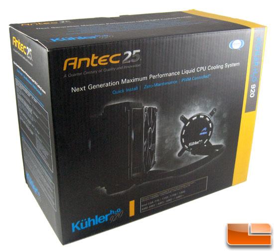 Antec Kuhler H2O 920 box