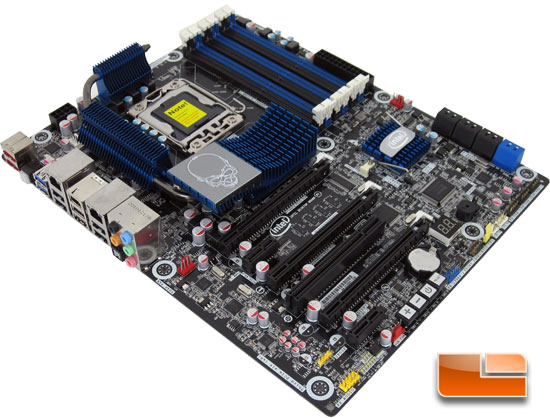 Intel DX58SO2 X58 Motherboard Layout