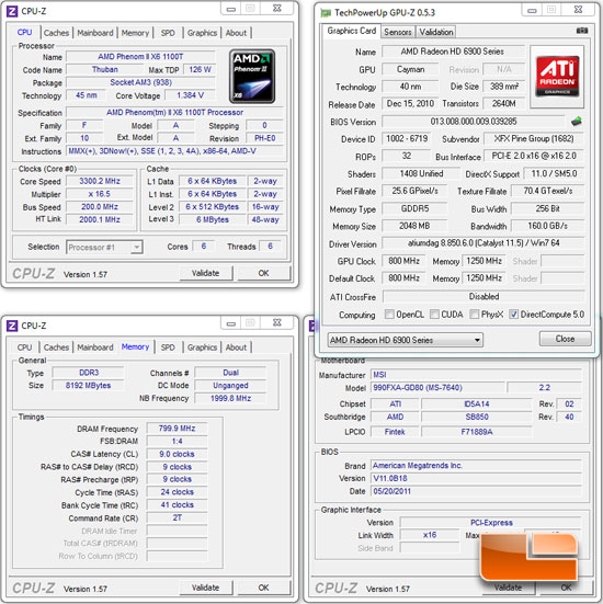 MSI 990FXA-GD80 Motherboard System Settings