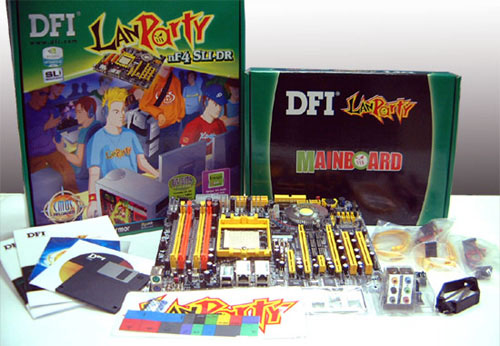 DFI LANPARTY NF4 SLI DR DRIVER (2019)