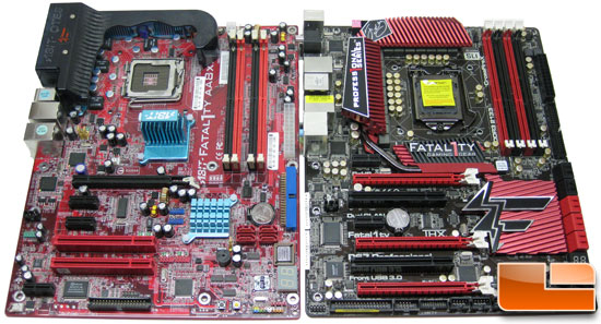 ASRock and ABIT Fatal1ty Motherboards