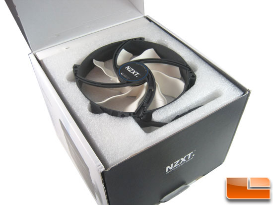 NZXT Havik 140 CPU Cooler fan packing