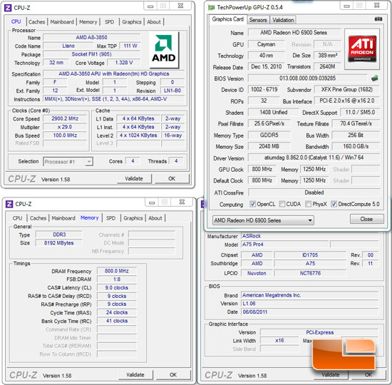 ASRock A75 Pro4 Motherboard System Settings