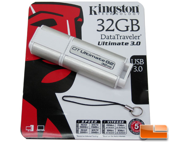 Kingston DataTraveler Ultimate 3.0 64GB Flash Drive Retail Bundle