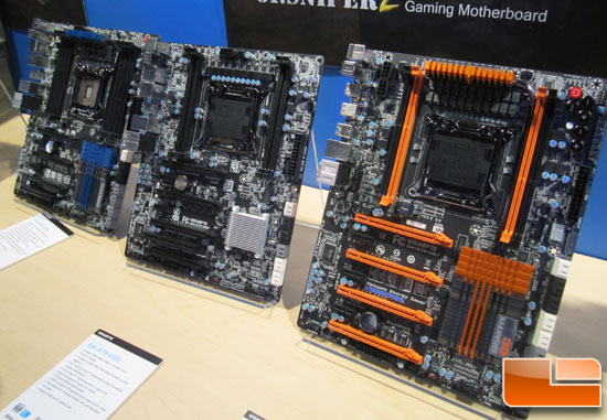 GIGABYTE Intel X79 Motherboard Preview