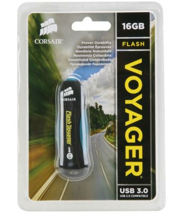 Corsair 16GB Flash Voyager USB 3.0 Review