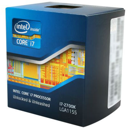 Intel Core i7-2700K Sandy Bridge 3.5 GHz CPU Review