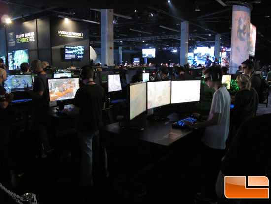 BlizzCon 2011 - NVIDIA Booth