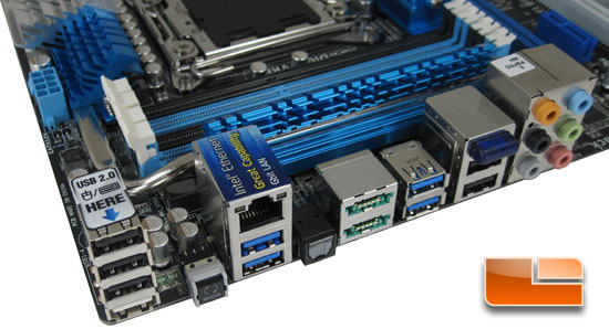 ASUS P9X79 Pro Motherboard Layout