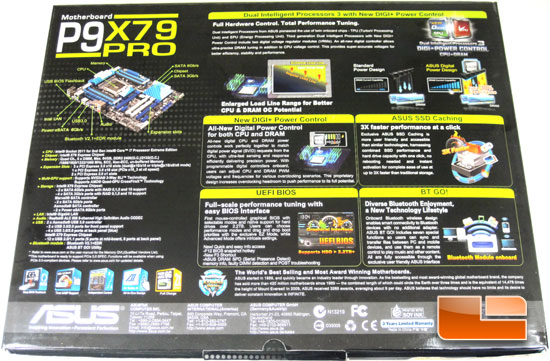 ASUS P9X79 Pro Retail Packaging and Bundle