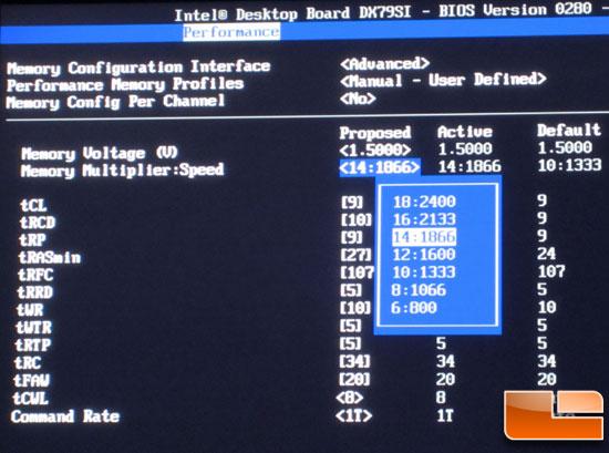 Intel DX79SI BIOS