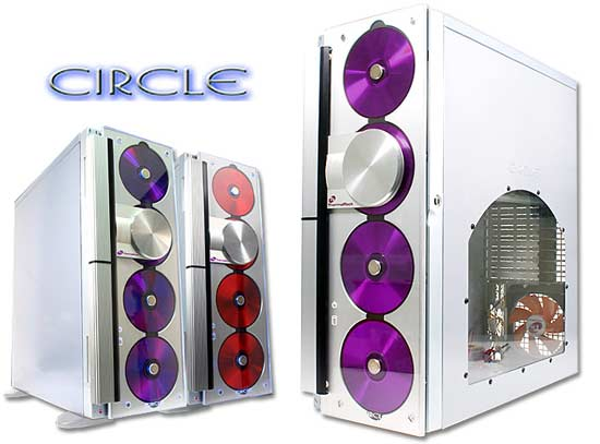 ThermalRock Circle Full Tower Case