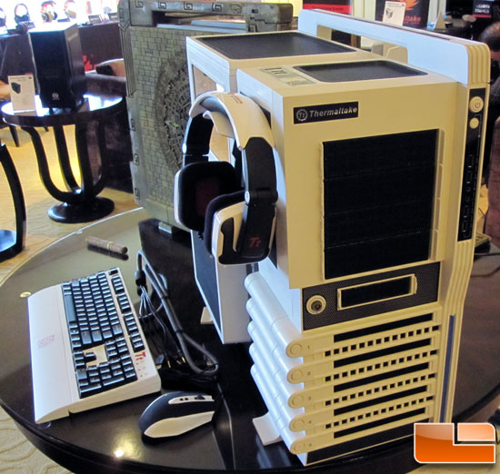 Ces 2012 Thermaltake Launches New Products Amp Shows A Case