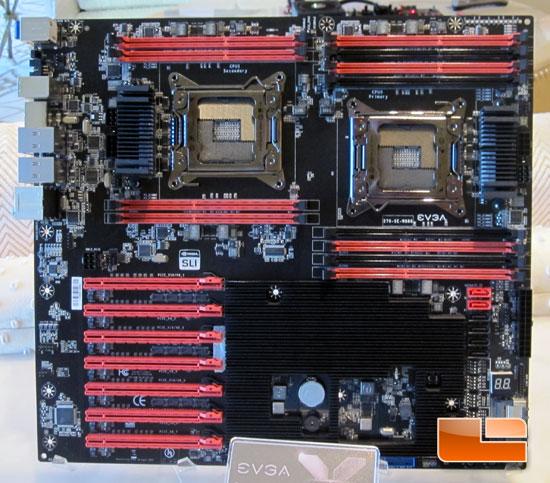 CES 2012: EVGA SR-X Dual Socket  2011 Motherboard & Power Supplies