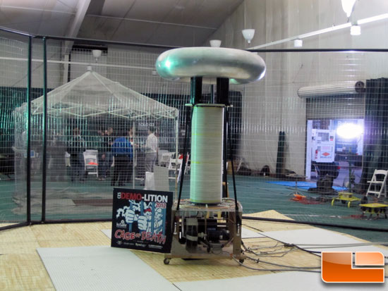 ioSafe Zaps Rugged Portable Thunderbolt Drive with Tesla Coil at CES 2012
