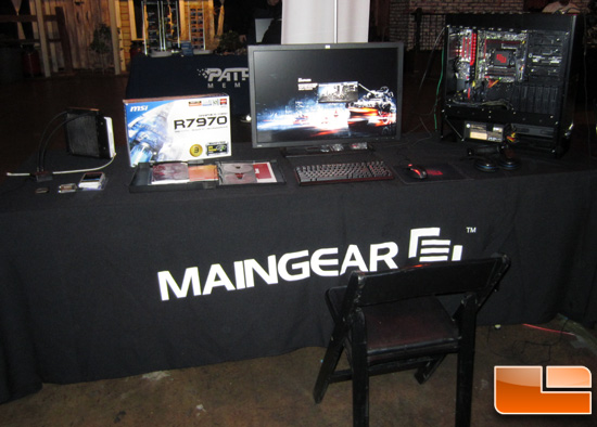 Maingear Booth