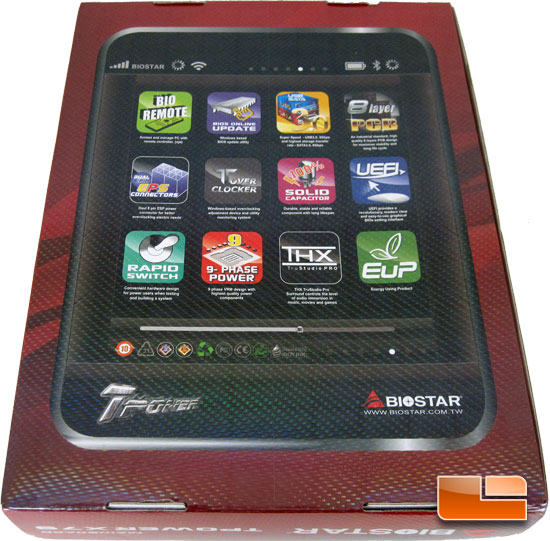 BIOSTAR TPower X79 Retail Packaging and Bundle