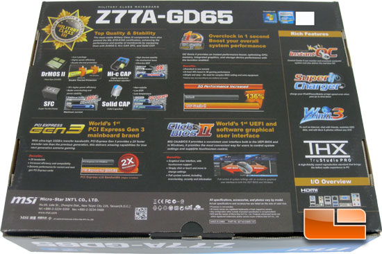 MSI Z77A-GD65 Ivy Bridge Motherboard Review