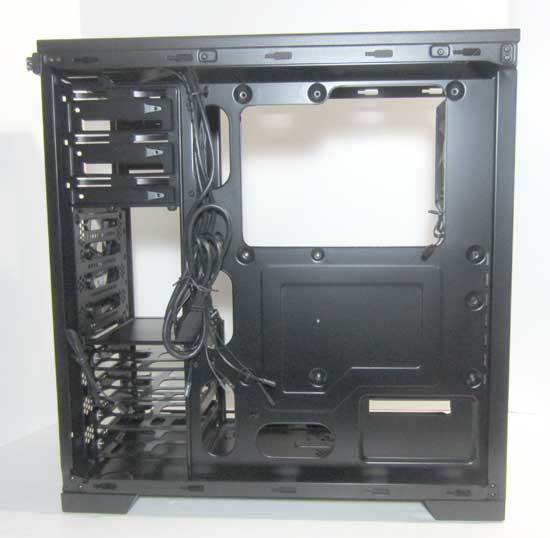Corsair Carbide 300R Behind the motherboard tray