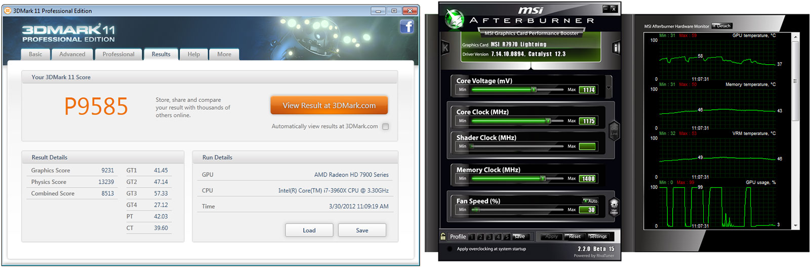 MSI R7970 Lightning Radeon HD 7970 3GB Video Card Review - Page 16