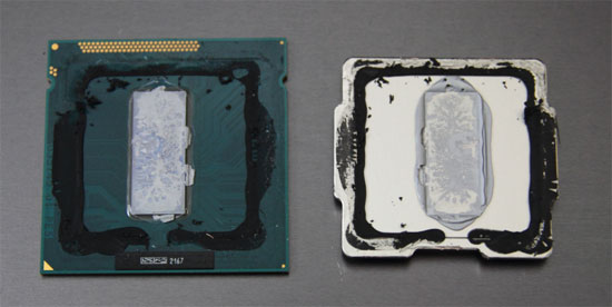 Intel Core i7 'Ivy Bridge' Thermal Interface Material