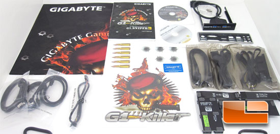 GIGABYTE Intel Z77 G1 Sniper 3 ATX Motherboard Retail Box and Bundle