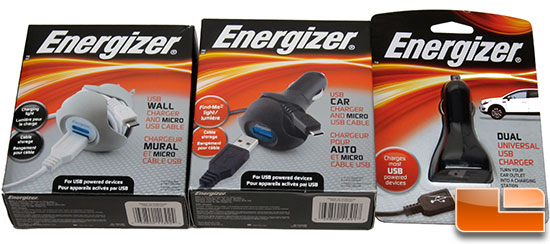 Energizer USB Chargers