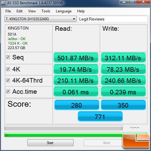 UserBenchmark: Kingston HyperX 3K 240GB SH103S3/240G