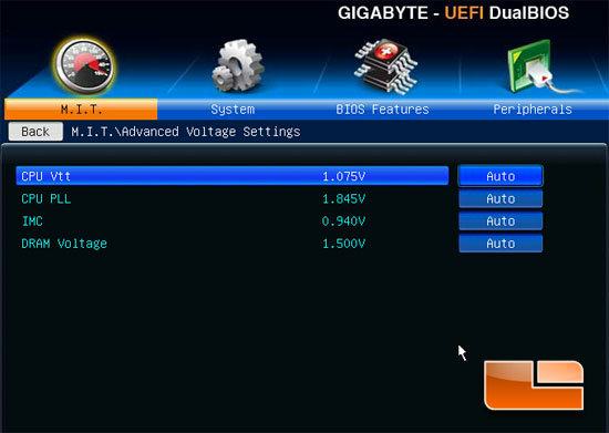 GIGABYTE Z77-DS3H Overclocking