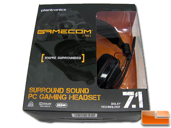 Plantronics GameCom 780 USB headset
